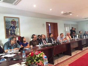 Chinese delegation meet with Morocco Agriculture ministry and foreign trade affrais